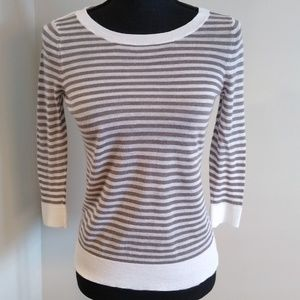 Ann Taylor striped sweater top, SP